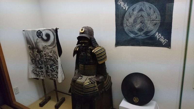 石黒家の展示物(鎧兜)