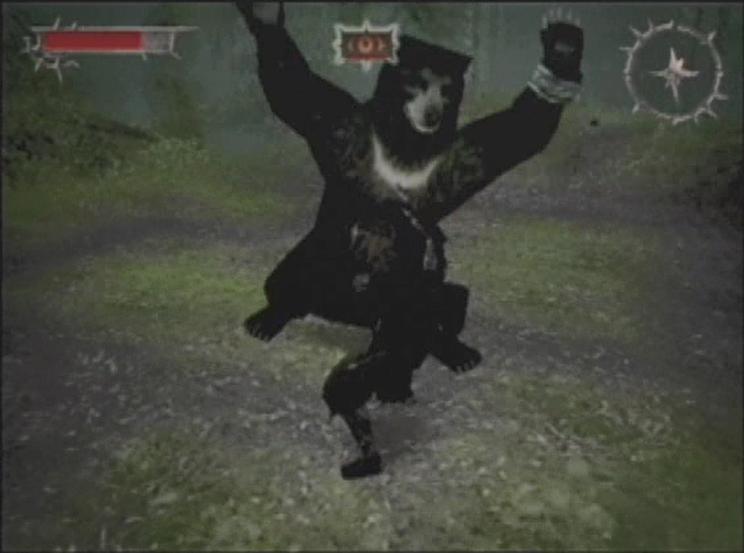 クマと戦う