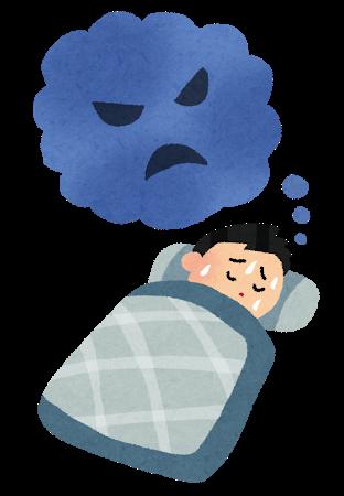 入眠時の幻覚・幻聴・呼吸困難