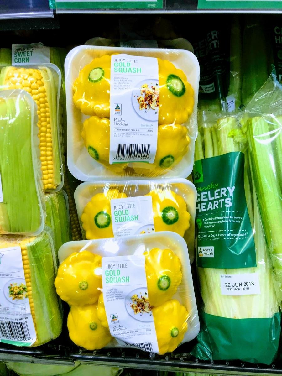 旅先で見つけた不思議な野菜「ゴールド・スカッシュ」