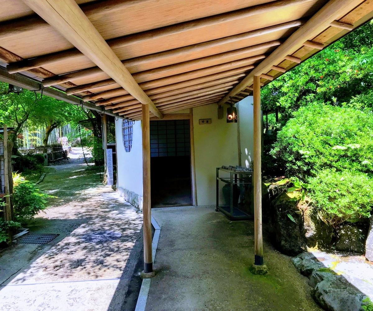 筍亭の中の様子 | 春の京都で筍を味わう「筍亭」