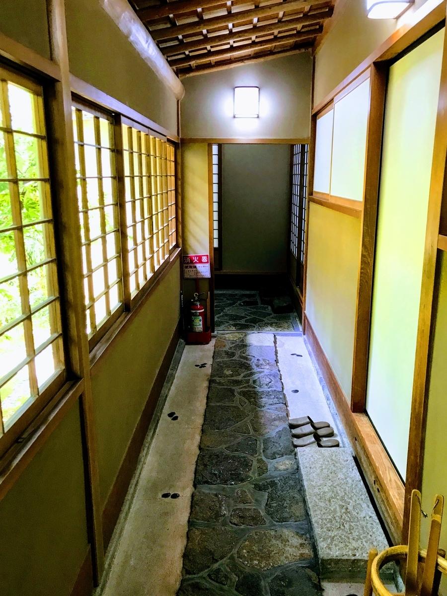 筍亭の中 | 春の京都で筍を味わう「筍亭」