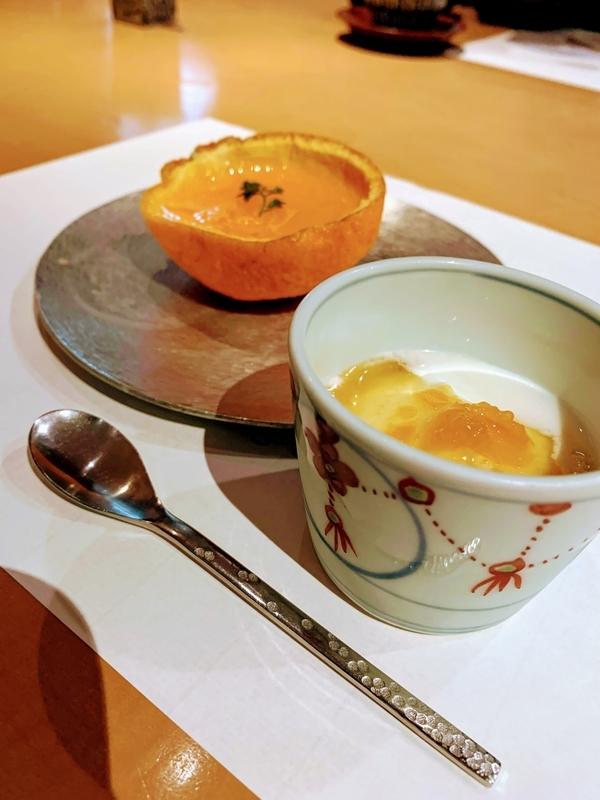 朝食にもしっかりとした甘味がつきました | 妙見石原荘