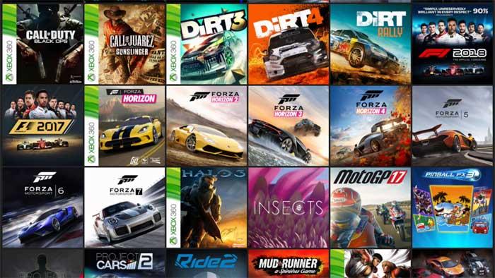 Xbox One 画面