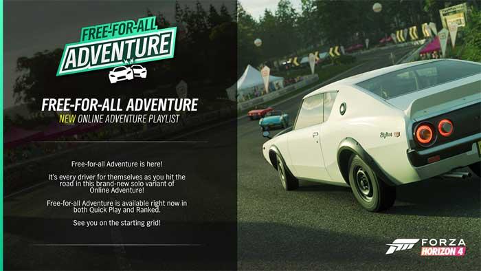 Forza Horizon 4「1月のアップデート情報」②