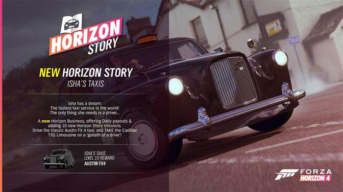 Forza Horizon 4「1月のアップデート情報」③