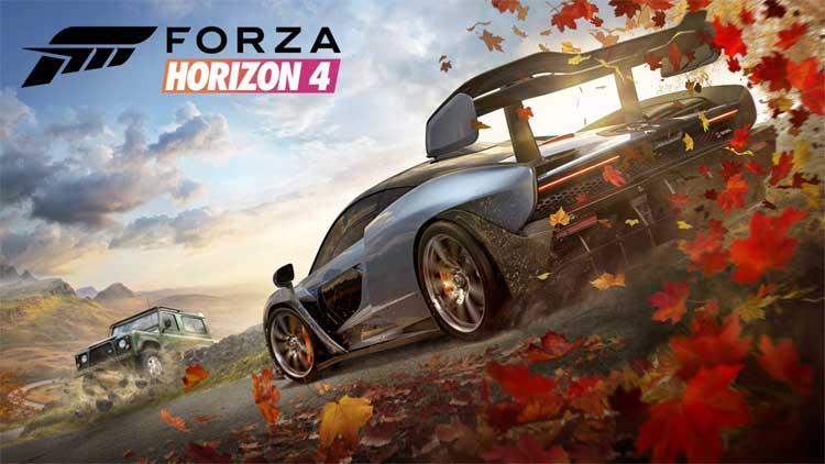 Forza Horizon 4 タイトル画面