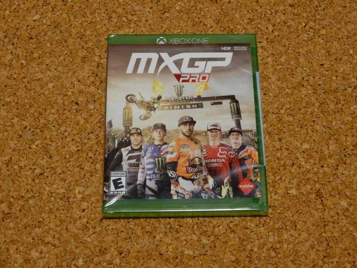 MXGP Pro(XBOX ONE)北米版パッケージ