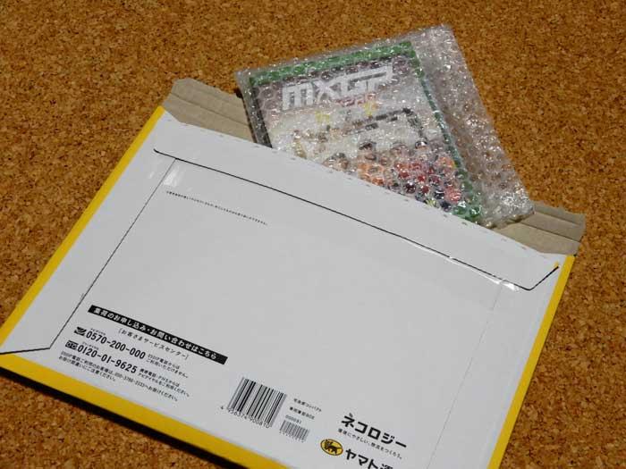 ネコポス便で届いたゲーム「MXGP Pro」