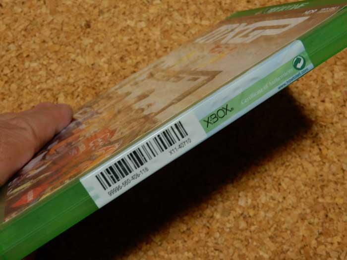 XBOX ONE ゲームソフトの封印