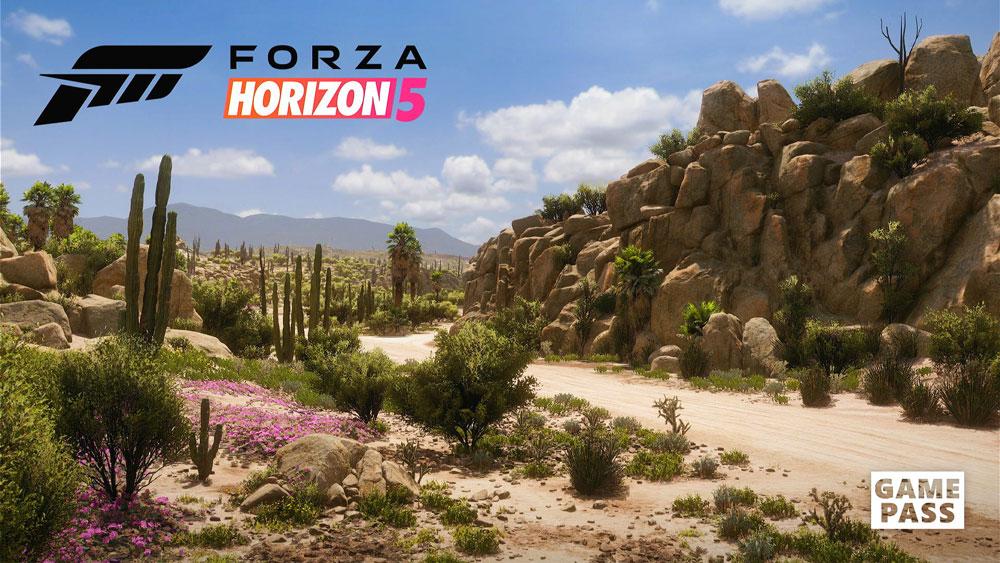 Forza Horizon 5 メイン画面