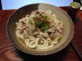 豚コマタマネギニンニクカツオ出汁+熊本ホシサン醤油+藻塩+分葱+