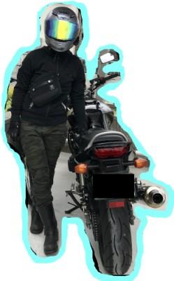 バイク装備着用見本