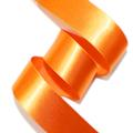 サテンリボン_オレンジ色
