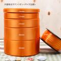 サテンリボン_オレンジ色画像2