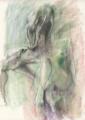 [デッサン][絵]10分ポーズ×2 2011年10月28日