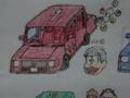 [おそ松][松野おそ松][自動車][自動車松][セダン車]セダン車のおそ松