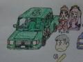 [チョロ松][松野チョロ松][自動車][自動車松][クーペ車]クーペ車のチョロ松