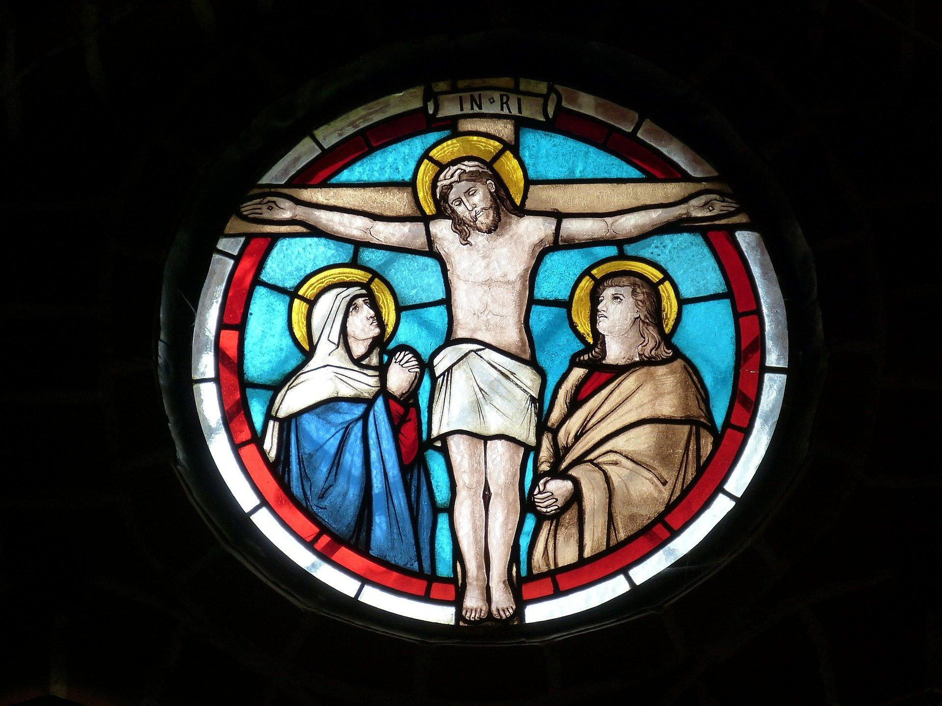 十字架にかけられたキリスト
