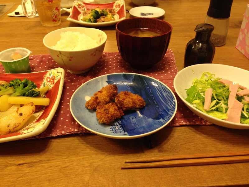 30分で晩御飯のメニュー