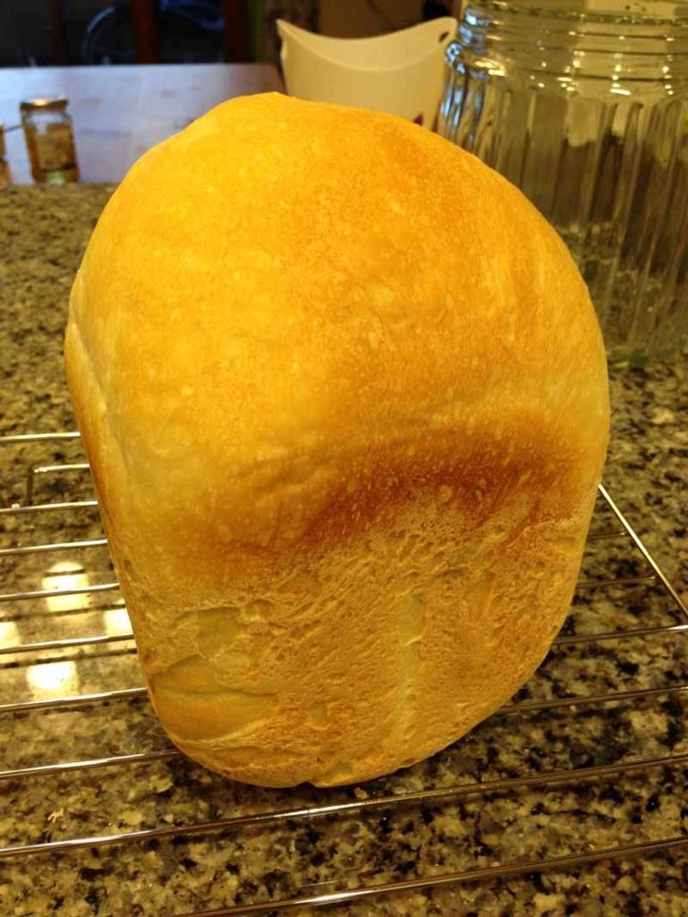窯伸びしたパン