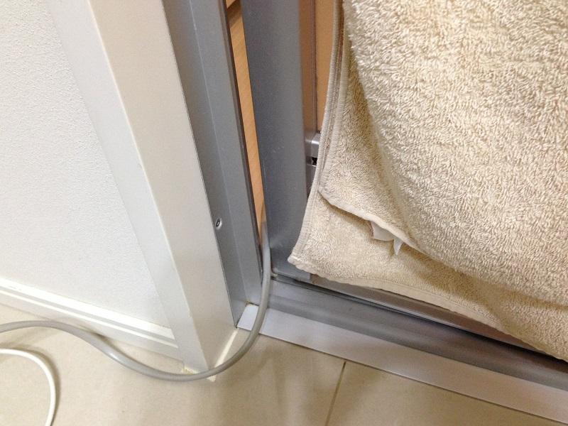 浴室乾燥に除湿器を活用