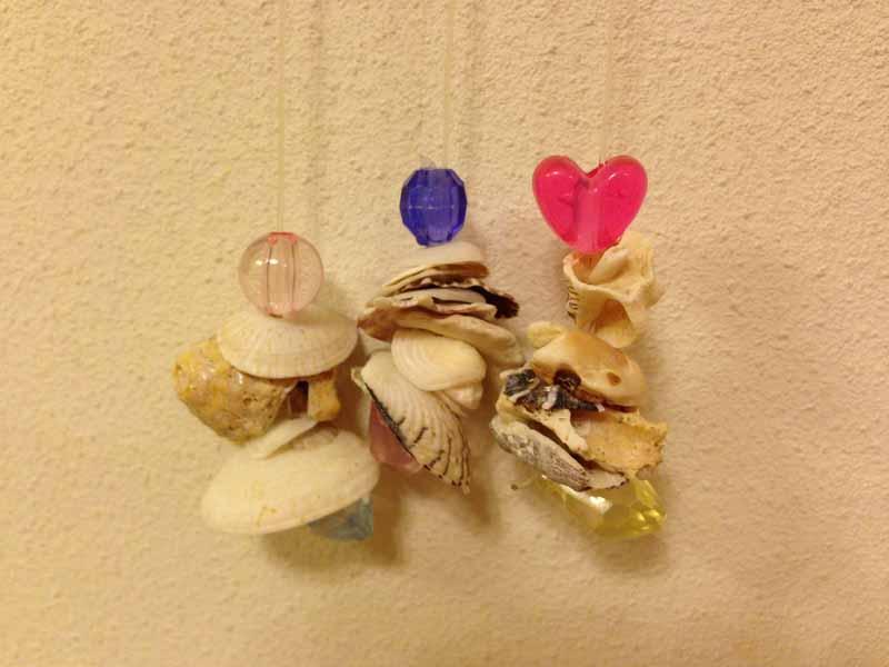 貝殻の風鈴