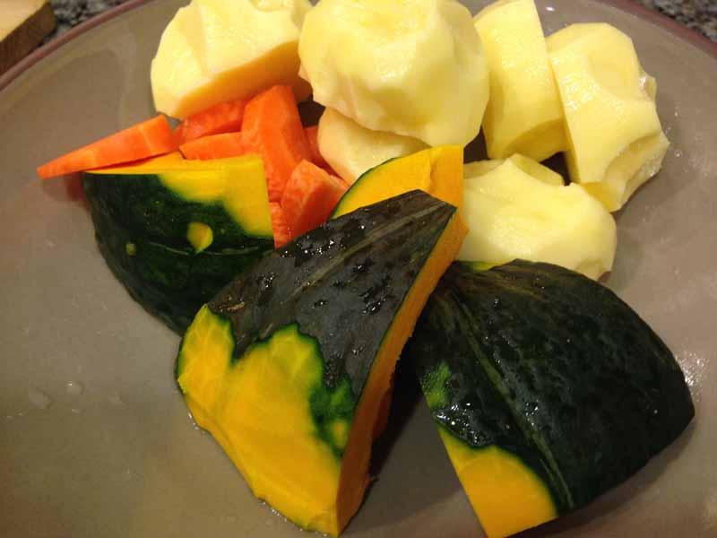ほうとうの野菜