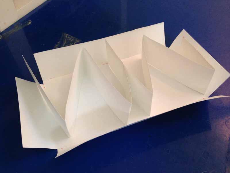 リカちゃんベッドの型紙