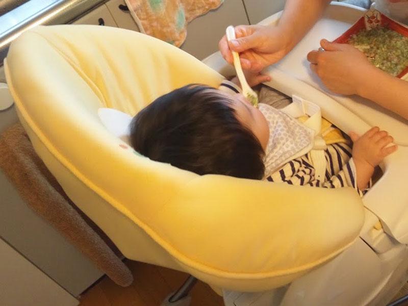 ハイローチェアと赤ちゃん