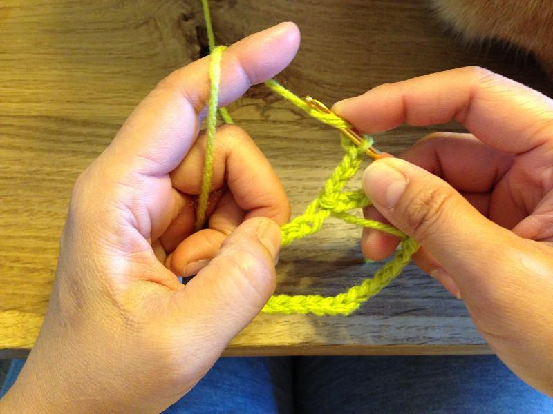 長編みの編み始め