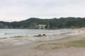 勝浦の海水浴場