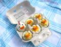 かわいすぎて食べるのに躊躇しそうな卵料理・・・ - IDEA*IDEA ~ 百式管