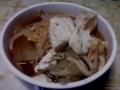 今日の晩ご飯・ひとりキムチ鍋