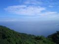 志賀島潮見公園から日本海方面