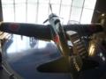 大刀洗平和記念館「零式艦上戦闘機三二型」 2階から