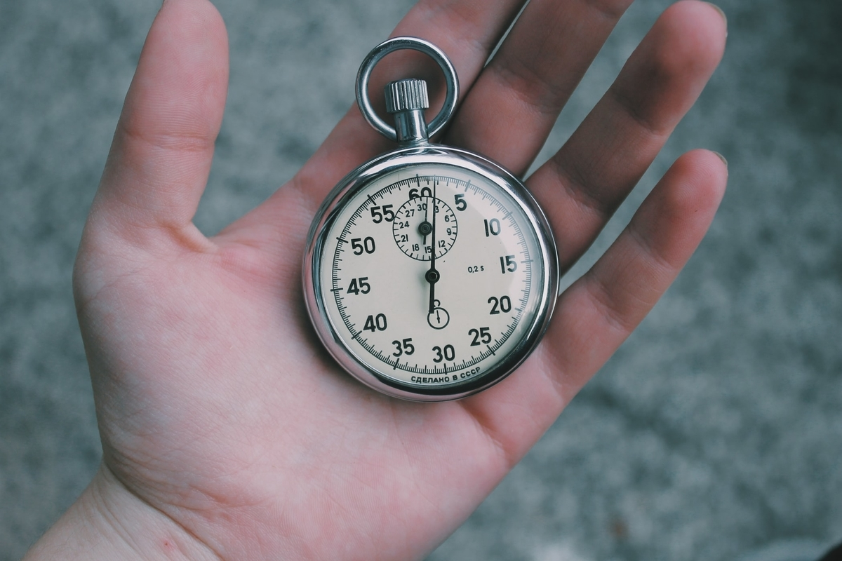 時間の様子