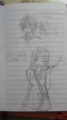 メガネシン(×神)とエレナちゃん