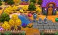 ハロウィン・庭1