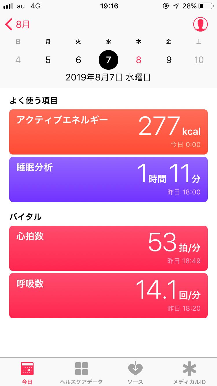 Ouraring ヘルスケア iPhone 健康管理 睡眠 計測 健康