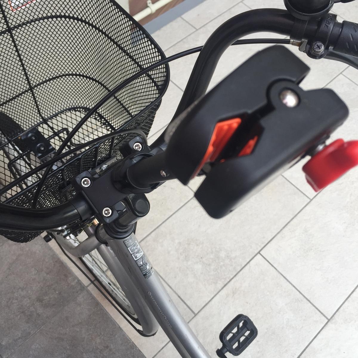 自転車 傘 傘立て かさキャッチ 傘キャッチ 第一精工 雨 手ぶら 便利 生活 ライフハック