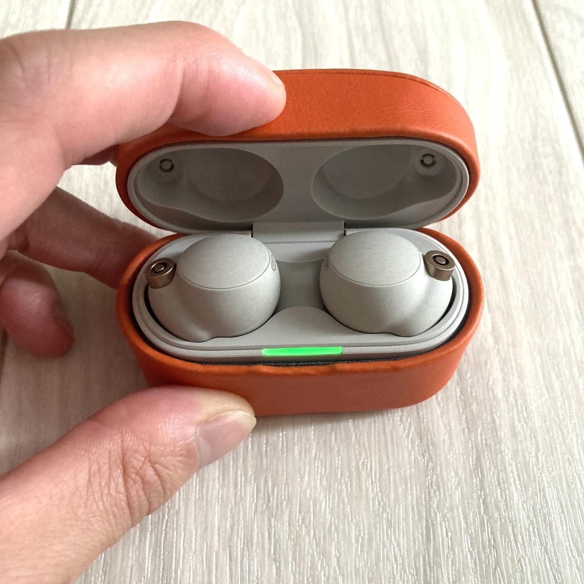 Sony WF-1000XM4 完全ワイヤレスイヤホン WF-1000XM3 Bluetooth イヤホン ヘッドホン SBC aptx LDAC Apple AirPods Pro PUレザー フェイクレザー