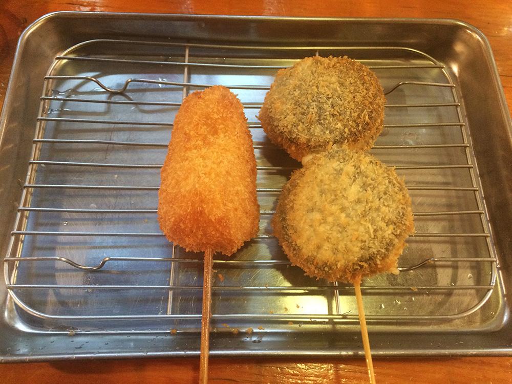 串カツデザート