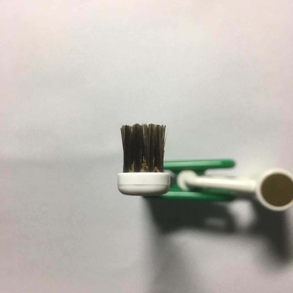 毛先が開かない歯ブラシ