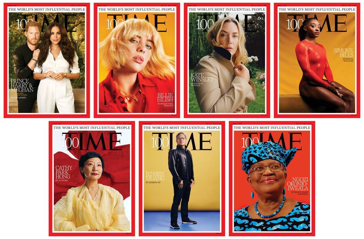 TIME誌100