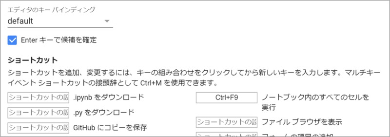 ≫Google Colaboratoryショートカット集(覚え方や機能紹介含む)