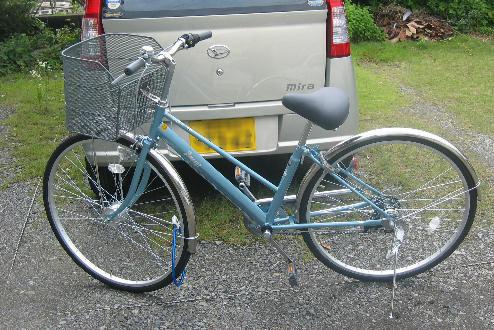 おにゅーな自転車