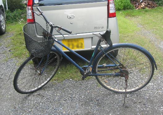 ご臨終な自転車