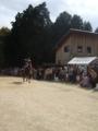 京都新聞写真コンテスト 七川祭の流鏑馬