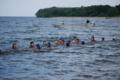 京都新聞写真コンテスト 琵琶湖での遠泳